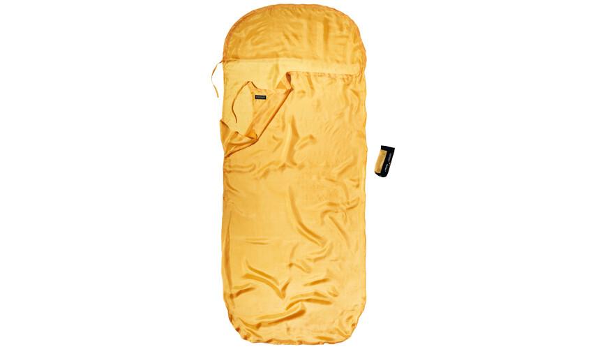 Cocoon KidSack Slaapzak en Inlet Silk geel